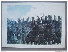 affiche: l´affaire de la division du général Maison à Hanau 26 mai 1813
