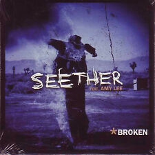 ☆ CD SINGLE SEETHER - Amy LEE Broken RARE CARD SLEEVE ☆