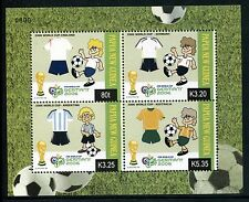Papua New Guinea 1216 MNH 2006World Cup Soccer Championships Germany x16829