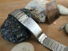 Bulova Accutron Stainless Steel New Old Vintage Watch Band 19mm nos