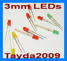 300pcs (100pcs each color) LED 5mm Red Green Yellow