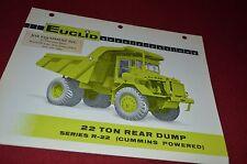 Euclid EUC R-22 Rock Haul Truck Dealer's Brochure DCPA6 ver6
