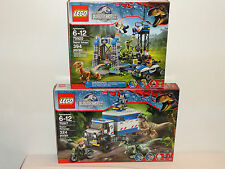 NEW LEGO JURASSIC WORLD Raptor Rampage Raptor Escape 75917 75920 Free Shipping