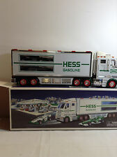 2003 HESS TOY TRUCK AND RACECARS FREE SHIPPING