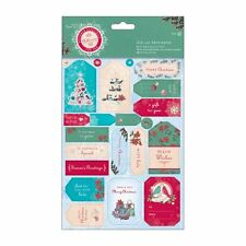 Papermania Die-cut Sentiments (2pk) - Bellissima Christmas