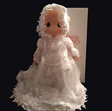 "Precious Moments 16"" Soft Doll Christening Baby #1099"