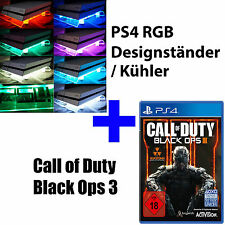 Ps4 PlayStation 4 bundle cod call of duty black ops 3+ RGB Design ventilador de radiador