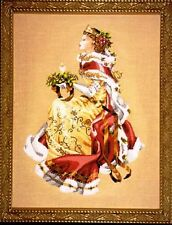 "SALE! COMPLETE XSTITCH KIT ""ROYAL HOLIDAY MD78"" by Mirabilia"