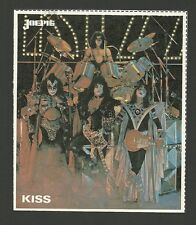 KISS Gene Simmons Vintage Joepie Sticker Collector Card B