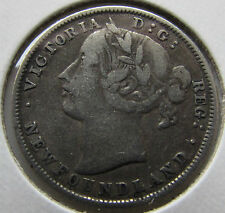 Newfoundland 1885 20 Cents Scarce  Decent Collectors Coin