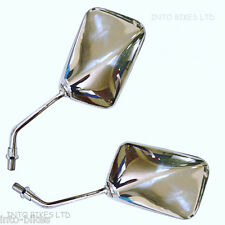BRAND NEW PAIR SET OF CHROME MIRRORS FOR HONDA CBX 750 84-86