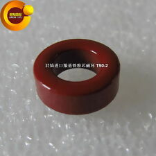 10pcs T50- 2 Iron Powder Core Circular High-Frequency RF Filter Inductance