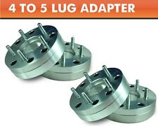 4 Wheel Adapters 4x100 to 5x4.5 ¦ Mustang 5 Lug Wheels On Mini Cooper