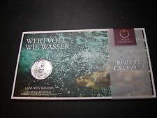 5 Euro 2012 Land des Wassers Handgehoben aus Silber im Blister    W/15/366/A
