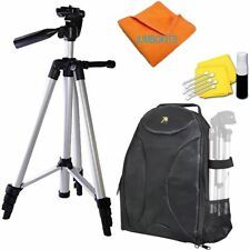 "LIGHTWEIGHT 50"" PHOTO TRIPOD + BACKPACK CARRYING CASE FOR NIKON D5000 D5100"