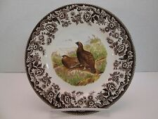 Spode Woodland Salad Plate Red Grouse brown Dinnerware