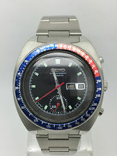 VINTAGE 70'S SEIKO CHRONOGRAPH 6139-6002 PEPSI POGUE  MAN,S  (GREAT CONDITION)
