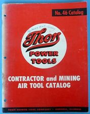 Thors Power Tools Catalog Parts Book No. 46