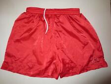 VINTAGE Short KAPPA long nylon satin brillant glanz rouge XL