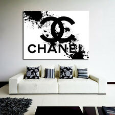 Poster This Is Not Chanel Pop Art Splatter 40x54 inch (100x135 cm) on 8mil Paper