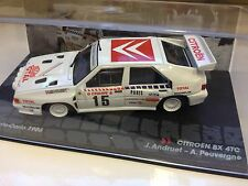 CITROËN BX 4TC MONTE CARLO 1986 Andruet - 1:43 DIECAST RALLY WRC MODEL CAR IXO