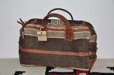 Ralph Lauren RRL Indian Beacon Leather Trim Duffle Bag