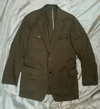 HUGO BOSS Giacca vintage Jacket 100% cotone size 50 verde militare military