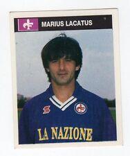 figurina CAMPIONI E CAMPIONATO 90/91 1990/91 numero 111 FIORENTINA LACATUS
