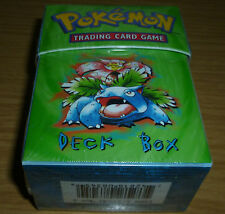 POKEMON DECK BOX VENUSAUR & GYRADOS PACK OF 60 ULTRA PRO CLEAR SLEEVES SEALED!!!