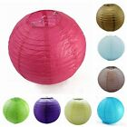 """6"""" 8"""" 10"""" 12"""" 14"""" 16"""" 18"""" Paper Lanterns Wedding Party Decoration Holiday Supply"""