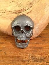 Anthropologie Cast Iron SKULL Bottle Opener Pepsi Coca Cola Beer Bottle Opener