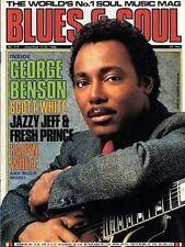 George Benson on Blues & Soul Mag Cover  Scott White  Karyn White  Johnny Mathis