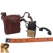 Bryan Military Police - Radio Phone w/ Leather Bag - 1/6 Scale - DID Figures