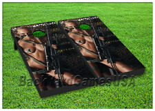 VINYL WRAPS Sexy Girl Camo USA Cornhole Board DECALS Bag Toss Game Stickers 30