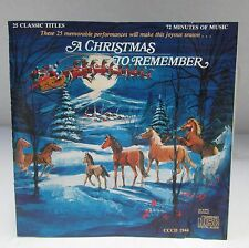 A Christmas To Remember Audio CD 25 Classic Titles Jolly Ol' St. Nicholas OOP