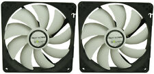 2 x GELID Solutions Silent 14 PWM 140mm Case Fans 1200 RPM, 126.65 CFM, 25.1 dBA