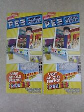 Three (3) Pez Visitor Center Passes-Every PEZ Collector in the World Needs These