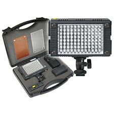 Vidpro Z-96K Professional Photo & Video 96 LED Light Kit / 9PC Set + Battery
