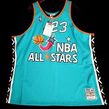 100% Authentic Michael Jordan Mitchell Ness 1996 96 All Star Game Jersey 60 4XL