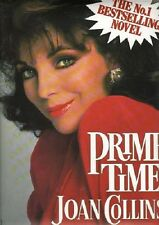JOAN COLLINS - SALE !!! - Original Vintage UK Book Poster PRIME TIME 1988