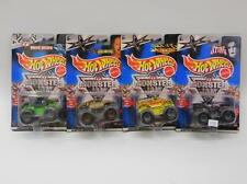 Lot Of Four Hot Wheels Monster Jam Toy Trucks In Packages Lot 172