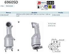 Pot catalytique Chevrolet Epica 2.0TD CRDI DPF 1991cc 110Kw/150cv LLW 5/06 9/09,