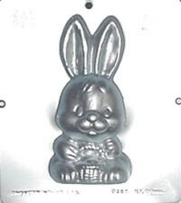 "6 3/4"" Bunny Front Chocolate Candy Mold Easter  893 NEW"