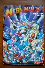 rare manuel instruction pour jeu PC Megaman X3 Mega Man X 3 Manual for PC