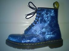 DOC DR MARTENS BOOTS SAPPHIRE JEWEL METALLIC PRISM HOLOGRAPHIC RARE 6UK US:W8 M7