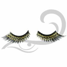 Technic False Party Eyelashes Black With Gold Double Frill lash