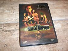 DVD   LE ROI SCORPION The Rock (Dwayne Johnson)  //