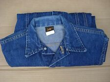 Lee jacket Jeans Womens Size M  Blue Made in U.S.A.
