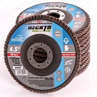 "G60 COARSE FLAP SANDING DISC Fits Angle Grinder Wheels 4.5""/115mm Metal/Wood"