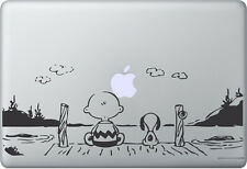 Apple MACBOOK AIR PRO + SNOOPY PEANUTS + Adesivo STICKER SKIN DECAL Sunset